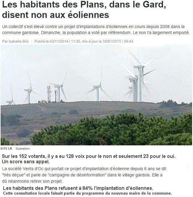Menace Des Géantes Éoliennes Sous La Termenes Villerouge q6wxIzt7AP